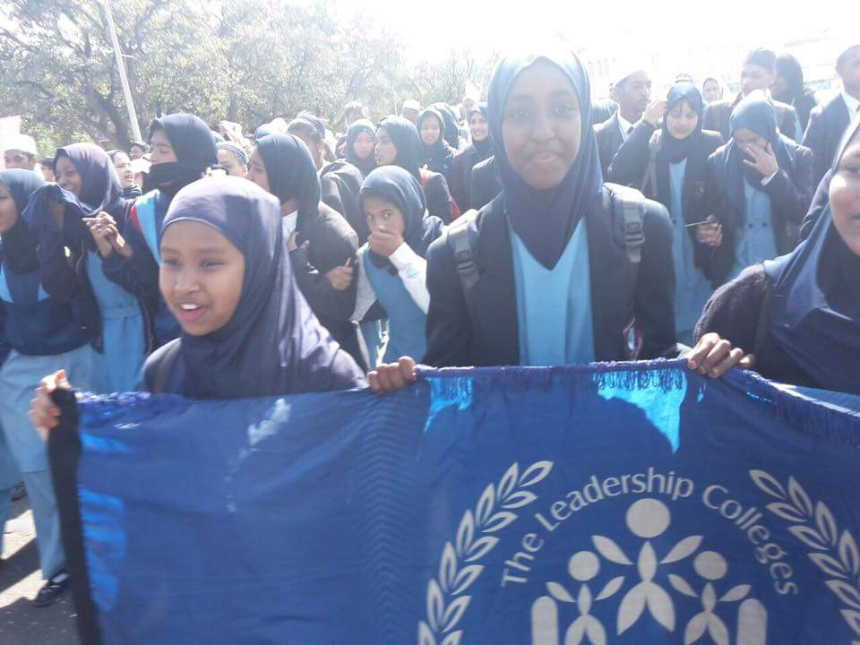 TLC attended a march of awareness regarding the atrocities in Rohinya
